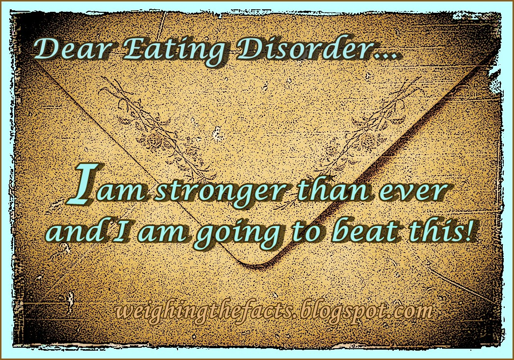 Eating Disorder Recovery Quote 8 Picture Quote #1