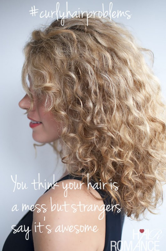 Curly Hair Problems Quote 6 Picture Quote #1