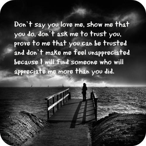 Feeling Unappreciated Quote 5 Picture Quote #1