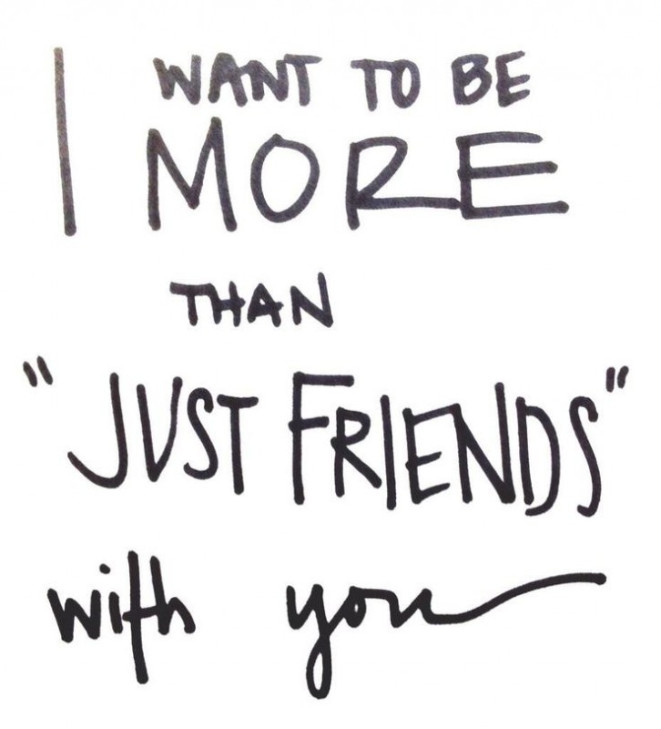 More Than Friends Quotes & Sayings | More Than Friends Picture Quotes