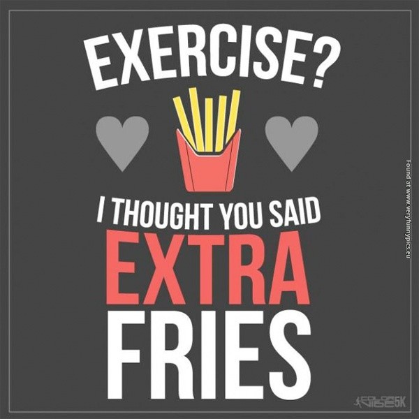Funny Fitness Quote 5 Picture Quote #1