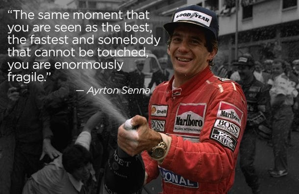 Ayrton Senna Racing Quote Quote Number 678862 Picture Quotes