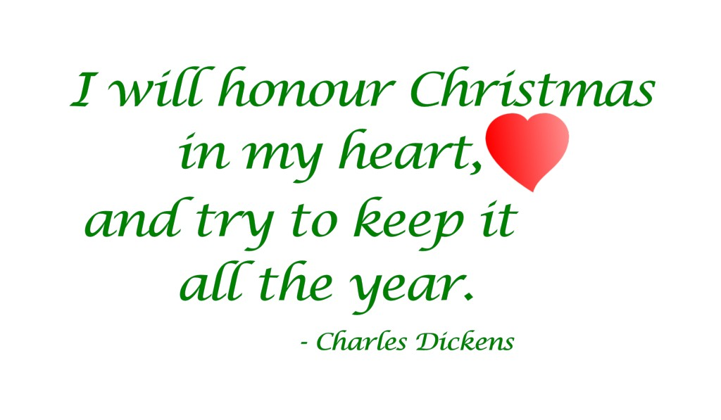A Christmas Carol Quote 4 Picture Quote #1