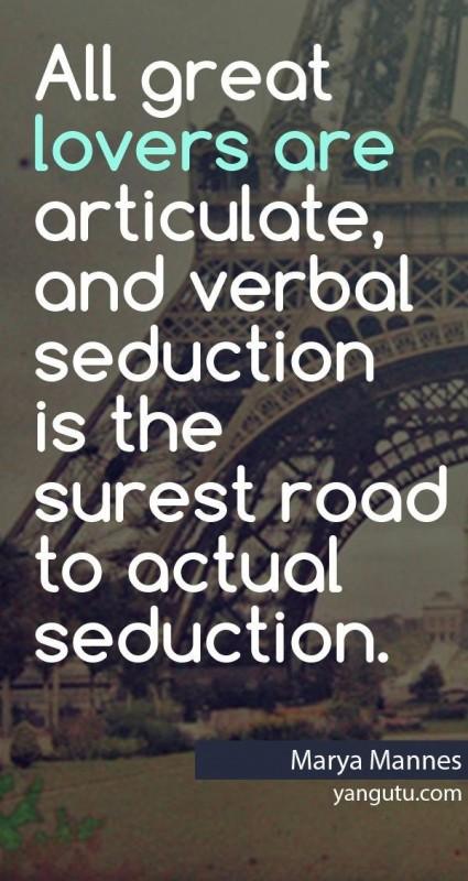 Seduction Quote 3 Picture Quote #1
