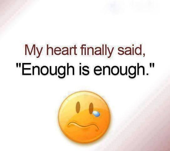 Enough Is Enough Quote 2 Picture Quote #1