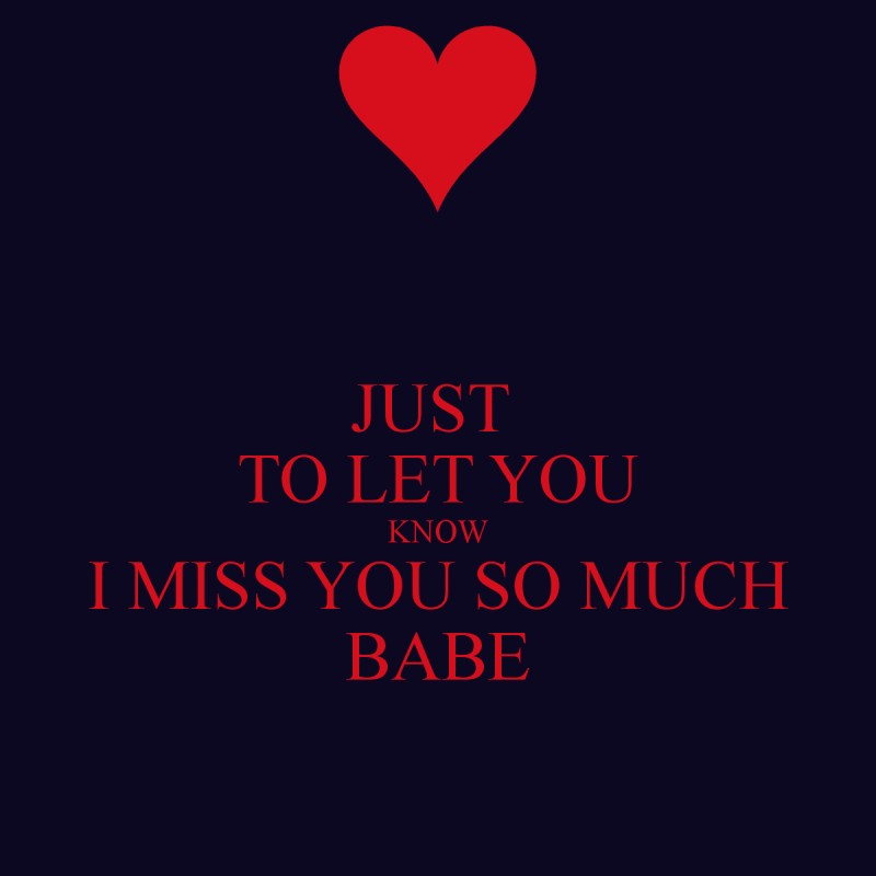 I Miss You So Much Quotes & Sayings