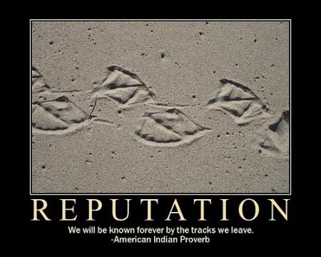 Reputation Quote 1 Picture Quote #1