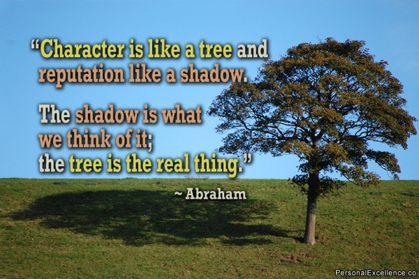 Character And Reputation Quote 2 Picture Quote #1