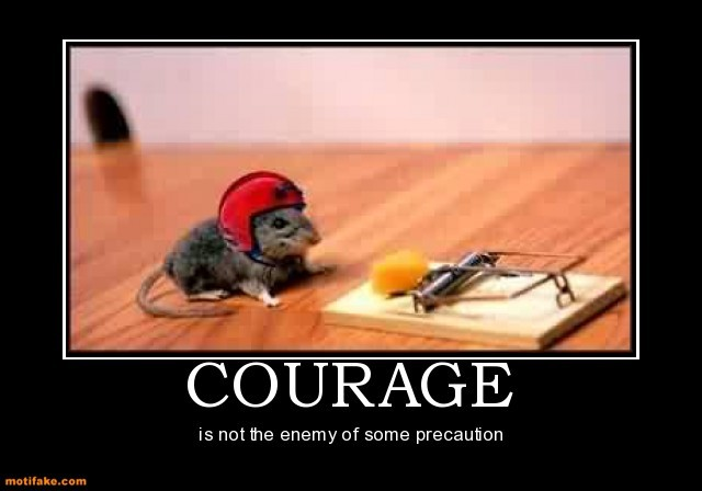 Courageous Quote 2 Picture Quote #1