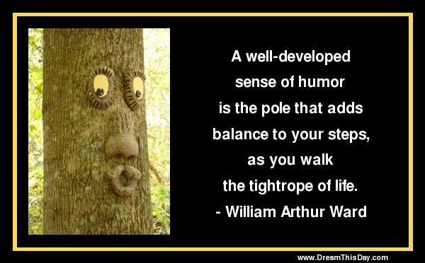 Sense Of Humor Quote 7 Picture Quote #1
