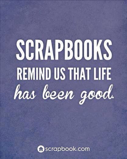 Scrapbooking Quote About Life Quote Number 679314 Picture Quotes