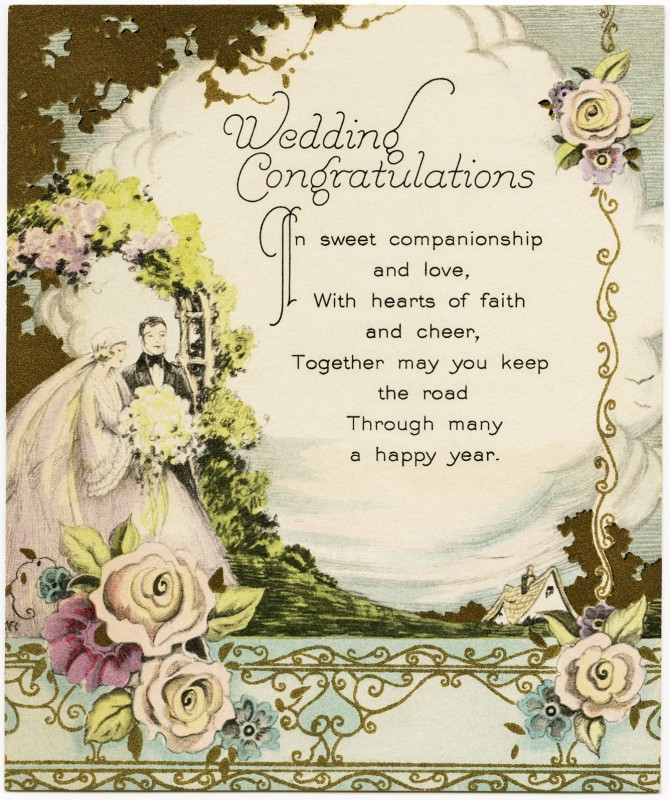Wedding Congratulations Quote Quote Number 679502 Picture Quotes