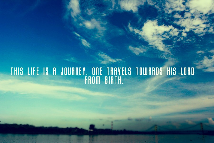 Life Is A Journey Quote 2 Picture Quote #1