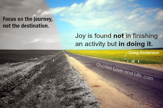 Life Is A Journey Quote 4 Picture Quote #1