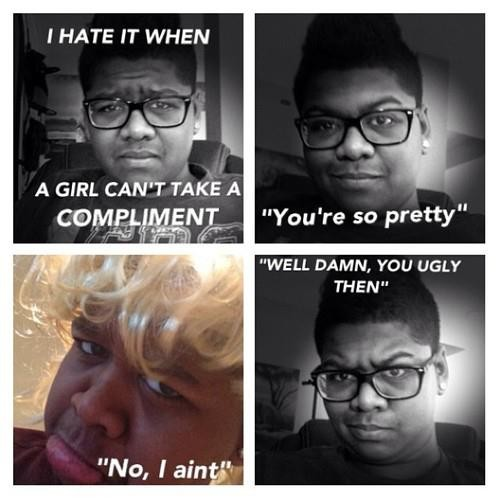 Compliment Quote For Girls 3 Picture Quote #1