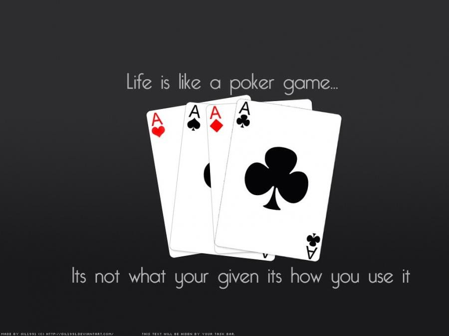 Poker phrases funny