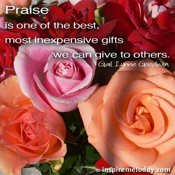 Praise Quote 9 Picture Quote #1