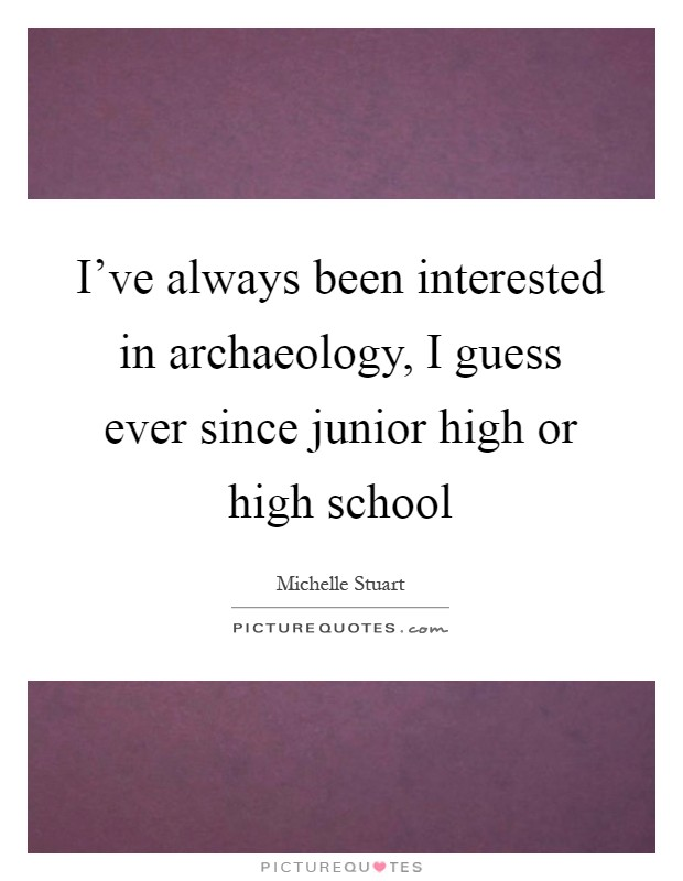 Archaeology subjects in arts stream for junior college