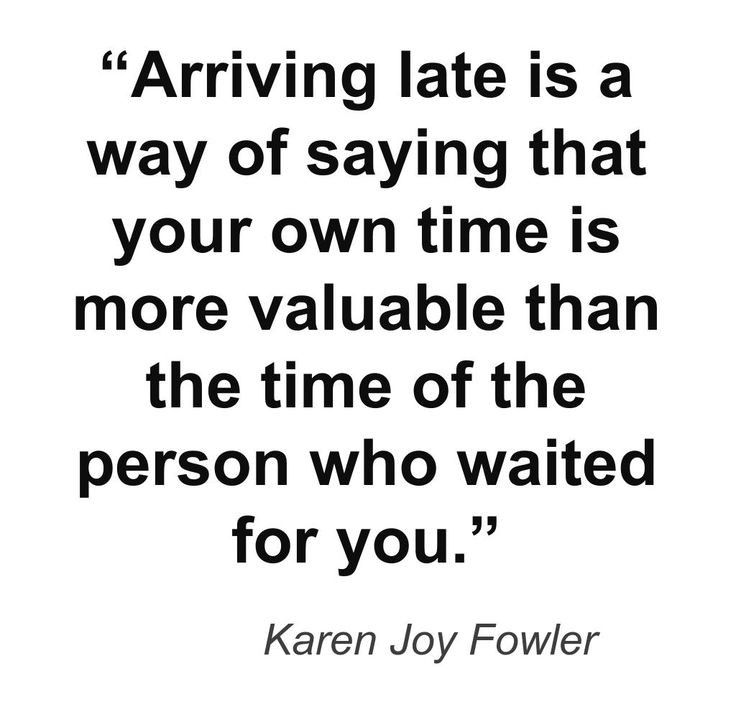 Punctuality Quote 6 Picture Quote #1