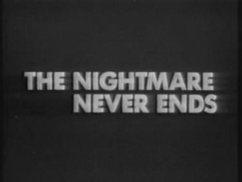Never Ending Nightmare Quote 1 Picture Quote #1