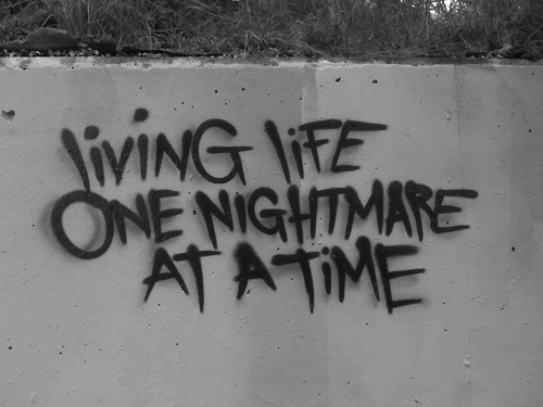 A Living Nightmare Quote 1 Picture Quote #1