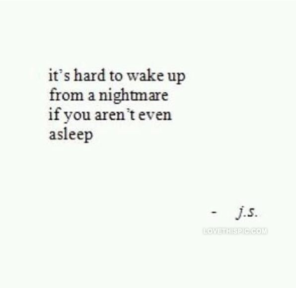 A Living Nightmare Quote 2 Picture Quote #1