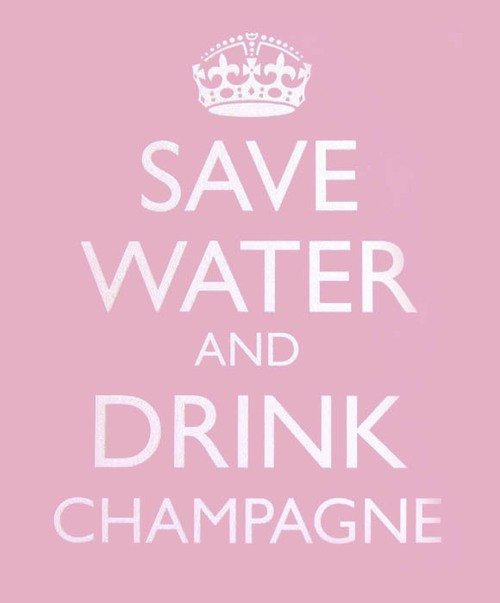 Drink Champagne Quote 3 Picture Quote #1