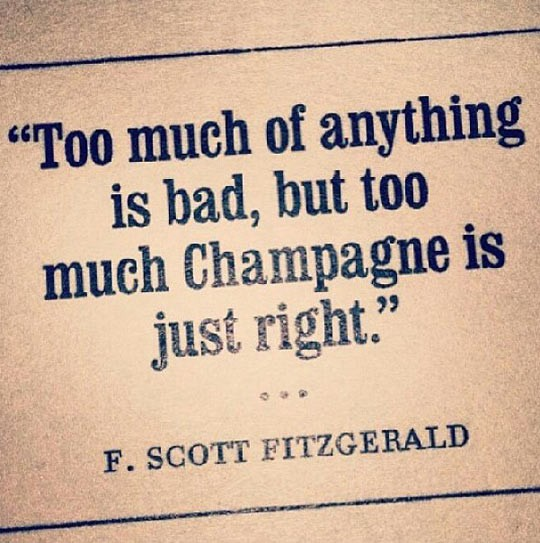 Champagne Quote 5 Picture Quote #1