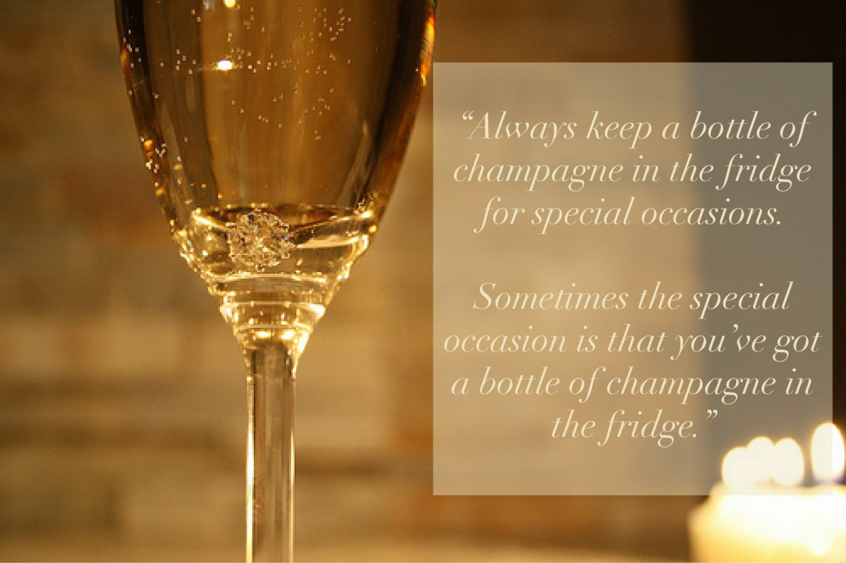 Champagne Quote 12 Picture Quote #1