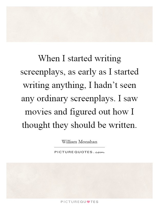 writing screenplays Here are my top 5 tips for writing stronger characters into your screenplay: #1 – make your character likeable early on if you expect your audience to root for your lead character for the next 90 minutes of the film, you had better do something early on to make sure that you've earned that.