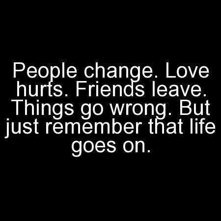 Things Change Quote 1 Picture Quote #1