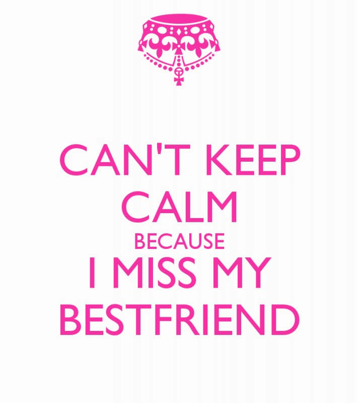 I Miss My Best Friend Quote | Quote Number 680757 | Picture ...