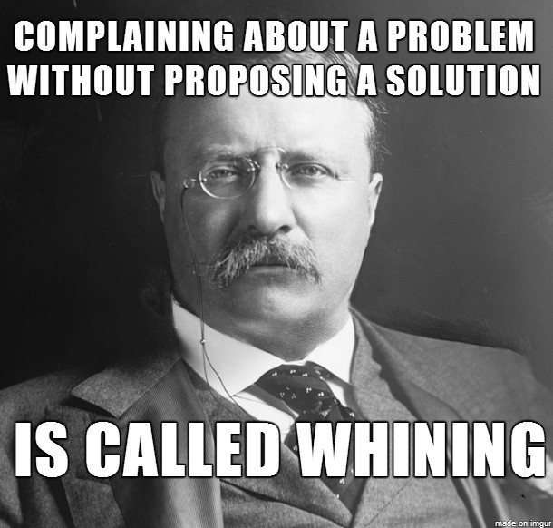 Whining And Complaining Quote 1 Picture Quote #1