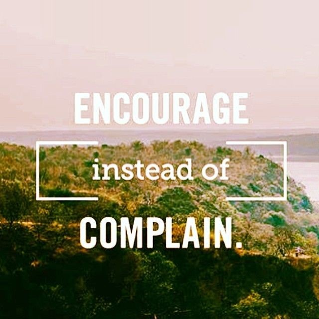 Instead Of Complaining Quote 1 Picture Quote #1