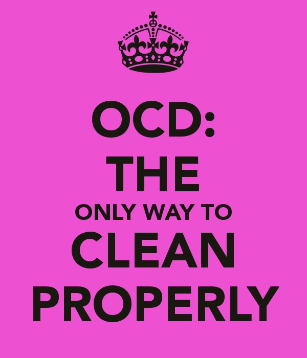 Cleaning Quotes Stunning Ocd Cleaning Quote  Quote Number 680884  Picture Quotes