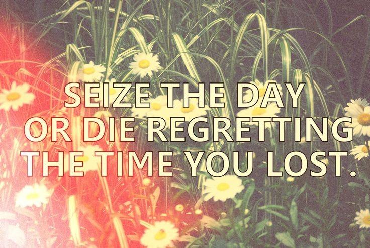 Seize The Day Quote 1 Picture Quote #1