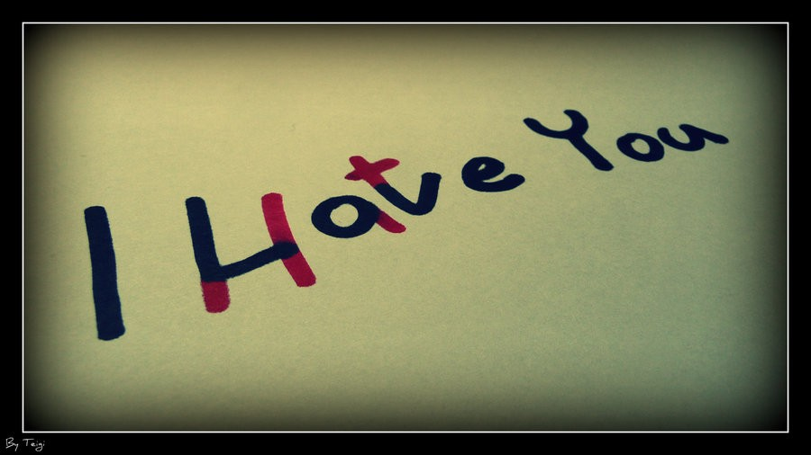 Hate You Quote 3 Picture Quote #1