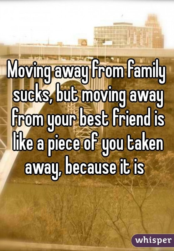 Moving Away Quote 2 Picture Quote #1