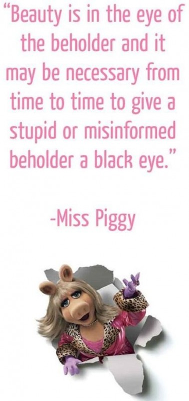 Miss piggy smile - 4 5