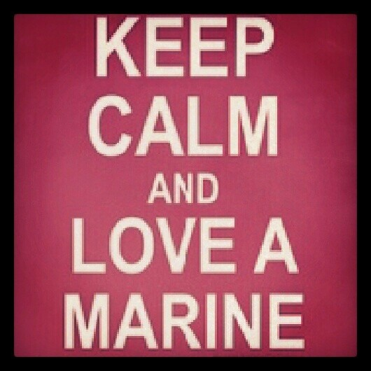 Marine Girlfriend Quote | Quote Number 681001 | Picture Quotes