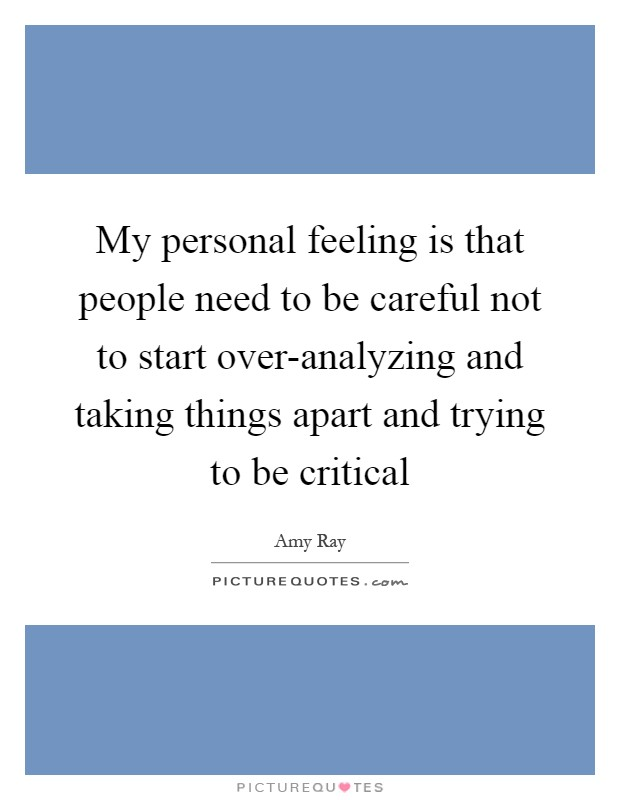 Try Not To Take Things Personally: Amy Ray Quotes & Sayings (33 Quotations