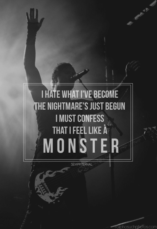 Monster Quote 2 Picture Quote #1