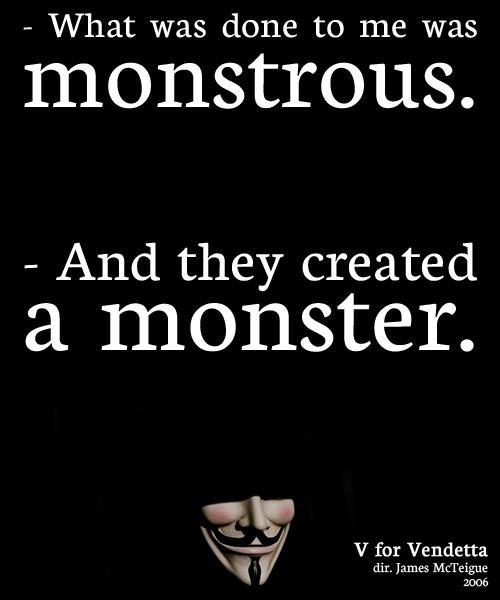 I Am A Monster Quote