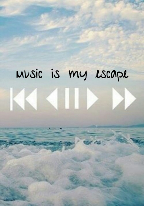 Music Is My Escape Quote 1 Picture Quote #1
