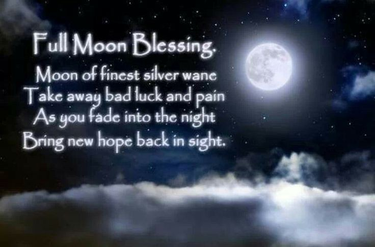 Quotes About Full Moon Custom Wiccan Full Moon Quote  Quote Number 681632  Picture Quotes