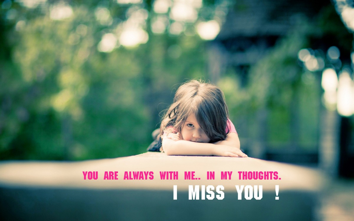Cute Missing You Quote 4 Picture Quote #1