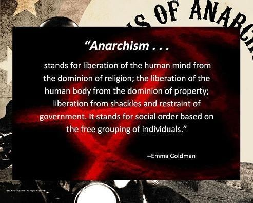Anarchy Quote 1 Picture Quote #1