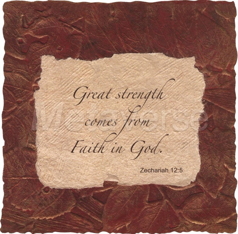 Bible Quote On Strength 2 Picture Quote #1