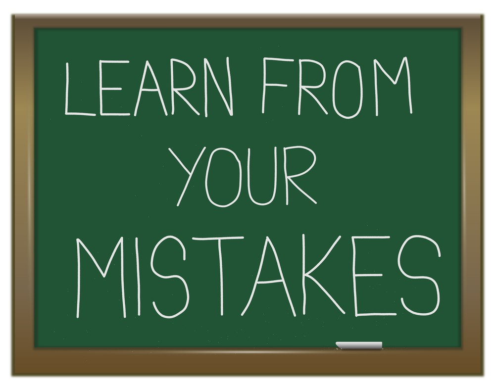 Learn From Your Mistakes Quote 1 Picture Quote #1