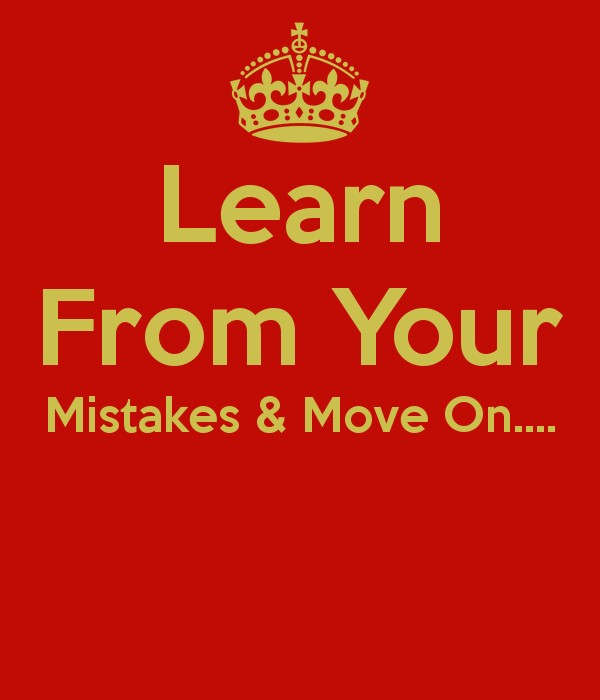 Learn From Your Mistakes Quote 2 Picture Quote #1